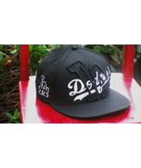BLING New Era 59Fifty LA DODGERS NEW BASEBALL CAP Fitted Size 7 3/8 Genu... - $49.99