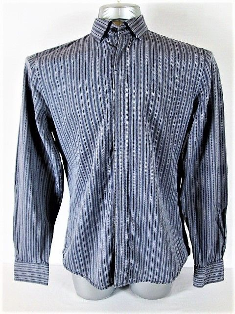 6113628a671 Armani Exchange A X Mens M Long Sleeve Blue and similar items