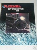 LIONEL 1989 TOY FAIR EDITION CATALOG- NEW - $3.75