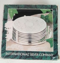 Vintage 6 Piece International Silver Company Coasters #99110310  - $9.89