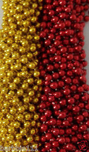 Red Gold Chiefs 49er's Mardi Gras Beads Football Tailgate Party Favors 2... - $9.78+