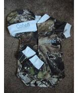 Personalized Mossy Oak Camo Camouflage 3PC Baby Infant Newborn Set Boy B... - $42.99