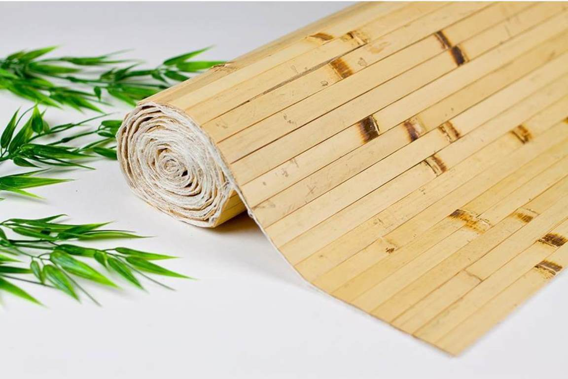 Bamboo Wall Covering Paneling Wainscot 8 Color Choices 4