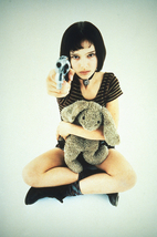 Natalie Portman Poster 11x17 In Leon The Professional Mathilda Gun & Doll - $19.99