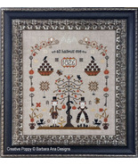 The Rampant Cats Sampler cross stitch chart Barbara Ana Designs - $10.80