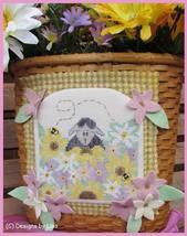 Sheepishly Shy cross stitch chart Designs by Lisa - $6.30