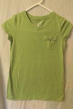 Girls Arizona Jean Company NWT Green Short Sleeve T Shirt Size M 10 to 12 - $9.95
