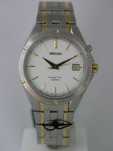 Seiko mens watches kinetic 2 colors bracelet and case  SKA120P1 - $215.21