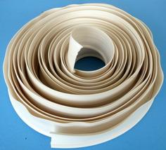 25 Ft. Piece Universal PVC Based White Rubber Fender Welting  - $36.95