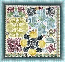 Peacock Pinwheels cross stitch chart Tempting Tangles - $10.80