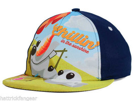 Disney's Frozen Olaf Warm Wishes Character Youth Snapback Cap Hat  Ages 4 - 8 - $14.24
