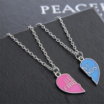 Stylish Necklace Women Kolye BFF Best Friends Necklace Pendants Gothic L... - $8.03