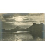Norway, Aftenstemning ved Svolvær/Svolvaer, early 1900s Real Photo Post... - $14.99