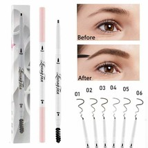 Eyebrow Pencil Waterproof Tip Eyebrow Pencil Cosmetic Longlasting Natura... - $3.81