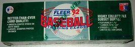 1992 Fleer Complete Baseball 732 Cards Sealed Boxed Set - $32.99