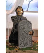 Animated Graveyard Undertaker Halloween Prop - $148.49