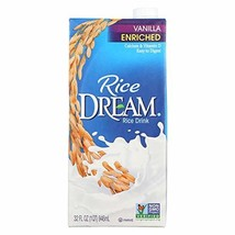 Rice Dream Enriched Vanilla 32 Ounces Case of 12