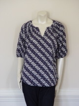 Diane Von Furstenberg Keoni Cavallo Blouse Top   Us 8   Uk  12 - $107.21