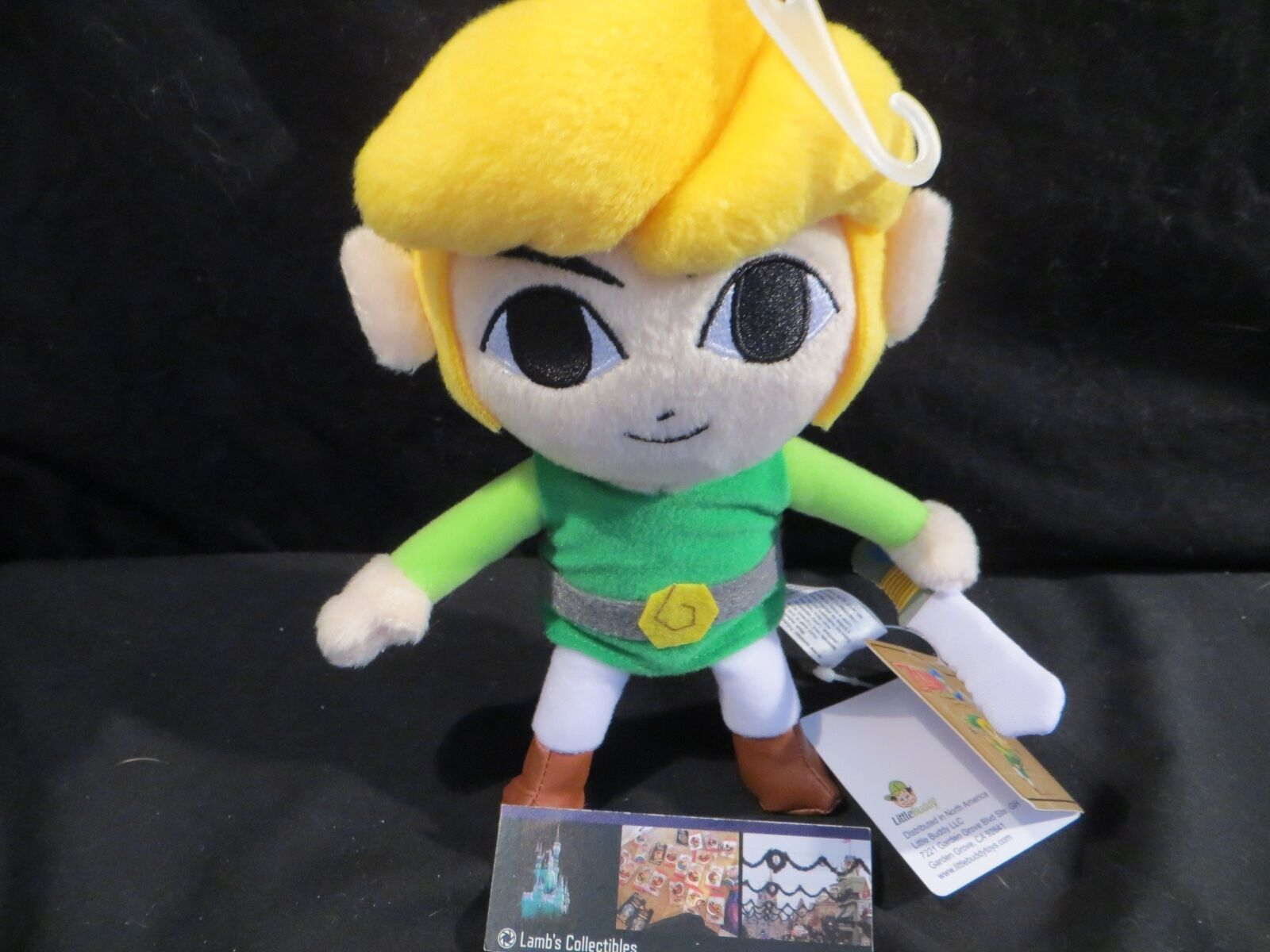 "Primary image for Little Buddy Link Phantom Hourglass Legend of Zelda 7.5"" plush toy stuffed doll"