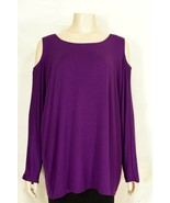 Mushka by Sienna Rose top NWT cold shoulders Stretch USA summer casual chic - $29.99