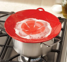 Silicone Pot Spill Stopper  Cover 28.5cm Diameter Cooking  Lids - $28.99