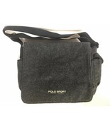 VTG Vintage 1990s Polo Sport Ralph Lauren Dark Grey Charcoal Wool Messen... - $139.99