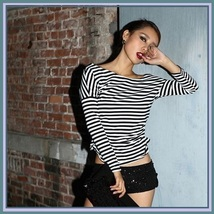 Long Sleeve Sexy Off Shoulder Fashion Cotton T-Shirt 5 Assorted Colors image 3