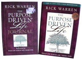 The Purpose Driven Life and The Purpose Driven Life Journal (HC) - Rick ... - $10.80