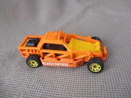Matchbox beach patrol , 2011 sand speeder ,Mattel toy ,Orange die-cast car   - $5.99