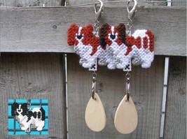 Papillon dog crate tag or hang it anywhere, handmade multiple colors ava... - $14.00