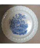 Rare BLUE CASTLE Dinner plate-1936- Taylor,smith taylor - $5.99