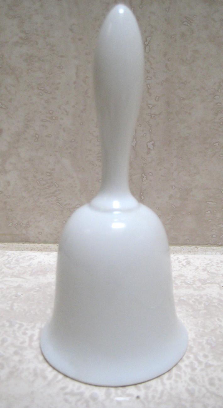 Beautiful Antique Porcelain Flower Bell- MINT CONDITION
