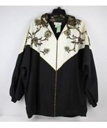 Vintage Stacey Michaels women's zipper down black blouse top size L - $13.82