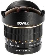 Bower (SLY358C) 8mm f/3.5 Fisheye Lens For Canon EOS DSLR Cameras - $329.99