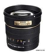 Bower (SLY85N) 85mm f/1.4 Portrait Manual Telephoto Lens for Nikon DSLR ... - $329.99