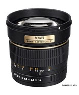 Bower (SLY85N) 85mm f/1.4 Portrait Telephoto Lens for Canon EOS DSLR Cam... - $329.90