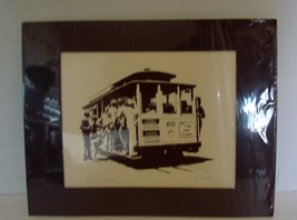 San Francisco Cable Car Print by Ron Fox, SF Artist l  - $12.99