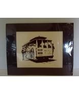 San Francisco Cable Car Print by Ron Fox, SF Artist l  - $12.99
