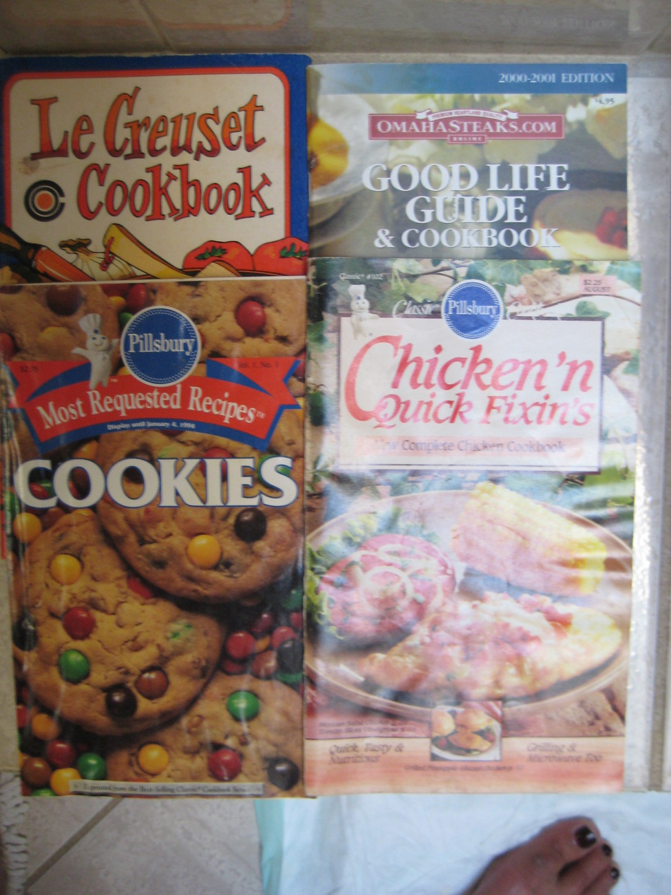 4 Cookbook pamphlets