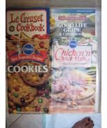 4 Cookbook pamphlets  - $3.49