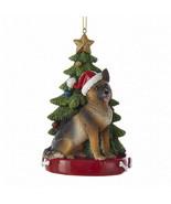 German Shepherd w/Tree Ornament - $15.95