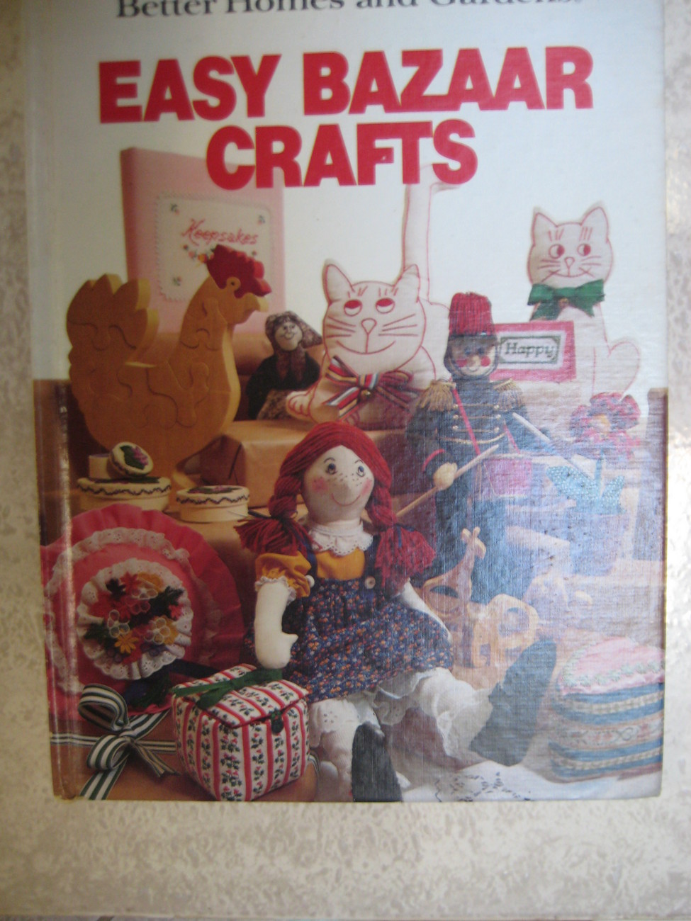 Vintage Easy Bazaar Crafts- Better Homes & Gardens