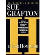 H is for Homicide by Sue Grafton - $1.99