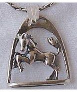 Framed horse pendant   - $23.00