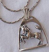 Framed horse pendant 1 thumb200