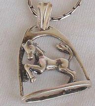 Framed horse pendant 7 thumb200