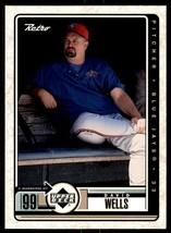 1999 Upper Deck Retro David Wells Toronto Blue Jays #87 - $3.91