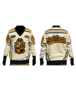 Alpha Phi Alpha Long Sleeve V neck Sweater Blac... - $103.78