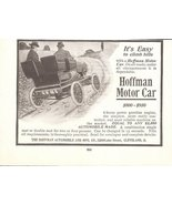 1903 Hoffman Motor Car old vintage automobile 1/2 page print ad - $10.00