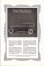 1923 Packard Single Six Sport Touring Car classic print ad - $10.00